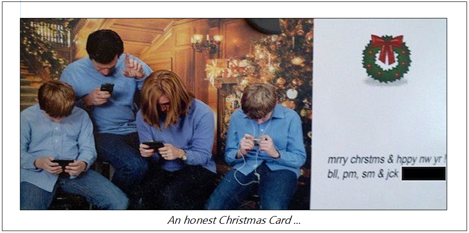 honest Christmas Card